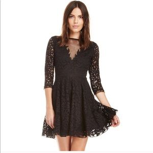 Saylor Lace Holiday Dress